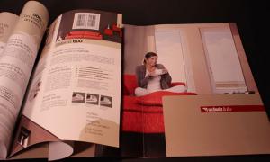 Realizzazione cartellina-rivista, una soluzione – due prodotti
