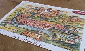Cartografia storica, Sora 1960