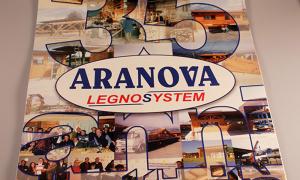 Calendario 35 anni della Aranova Legno System