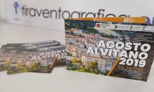 Pieghevole programma Agosto Alvitano 2019