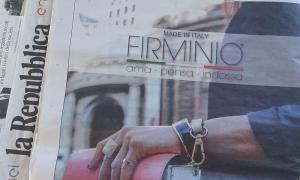Pagina pubblicitaria La Repubblica