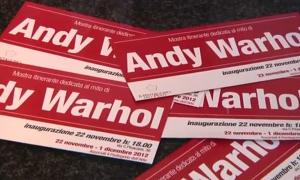 Mostra itinerante dedicata al mito di Andy Warhol - Milano 2012