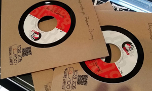 Cover Vinile 7 pollici in carta Kraft