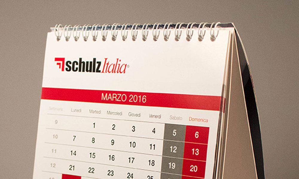 Calendario da tavolo 2016