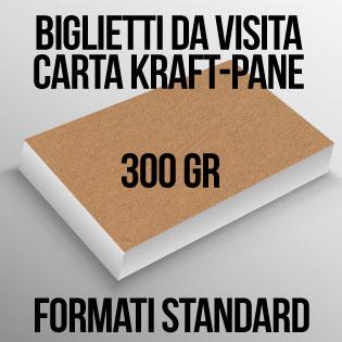 Biglietti Da Visita Su Carta Kraft 300 Gr