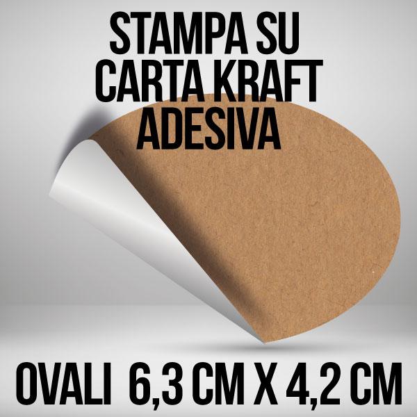 Personalizzato Adesivi Etichette Personalizzate Oro varie dimensioni e quantità